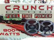 CRUNCH AUDIO Car Speakers/Speaker System P1-653